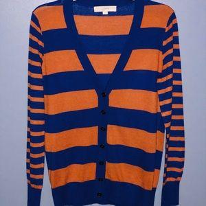 EUC Ann Taylor Loft Vneck Button Cardigan Sweater
